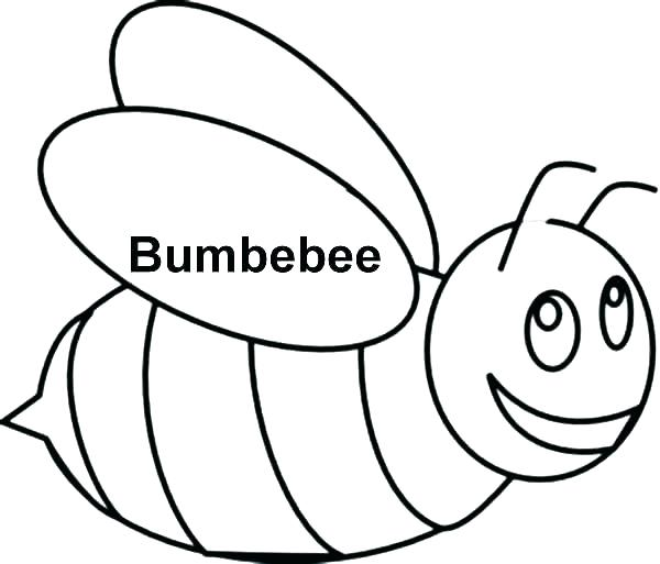 600x513 Bee Coloring Page Bumble Bee Coloring Pages Beehive Coloring Page