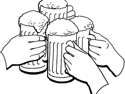 440x330 Holiday Coloring Pages, Cheers Holiday Of Beer Coloring Pages