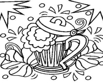 400x322 Beer Coloring Pages Page Image Clipart Images