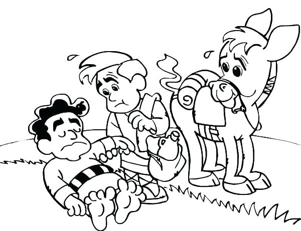 600x461 Be Ye Kind Coloring Page Helping Others Pages Being Is Doing