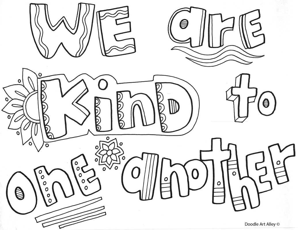 1035x800 Behavior Expectations Coloring Pages