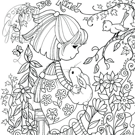 570x570 Colored Pencil Coloring Pages Print John T Adult Coloring Page