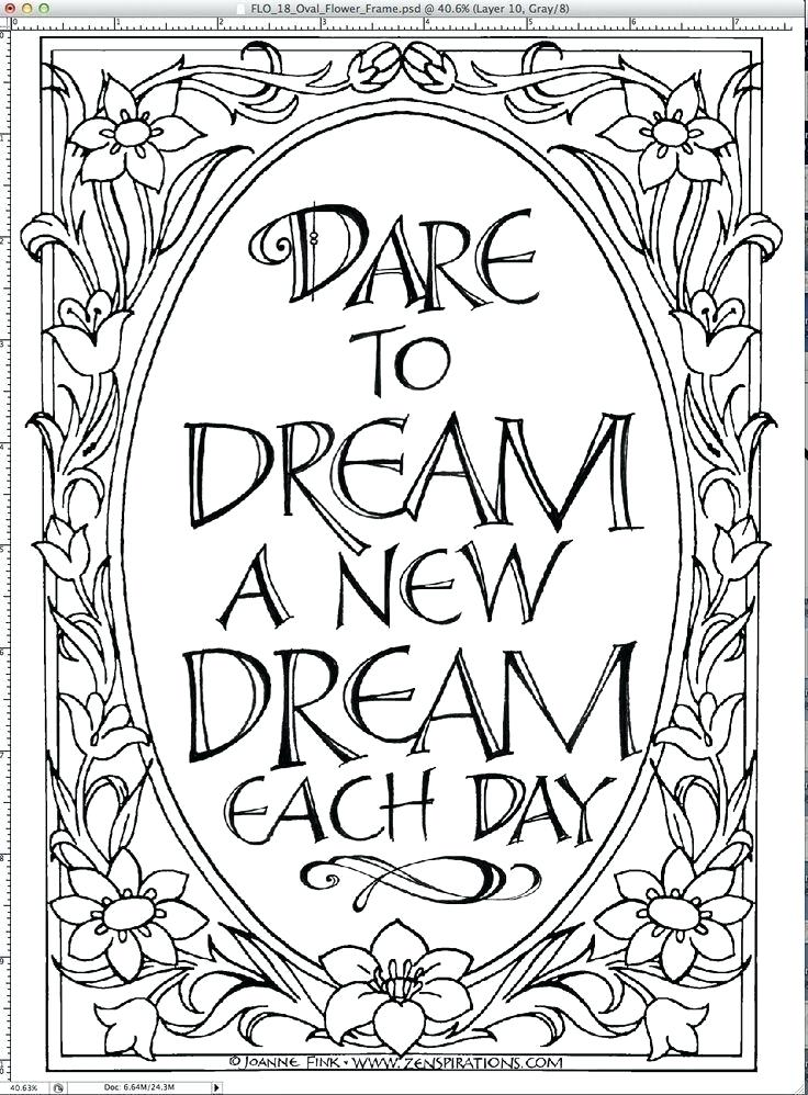 736x998 Coloring Pages With Quotes Inspiring Quote Coloring Pages