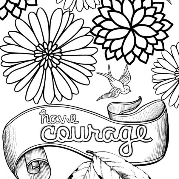 600x600 Have Courage And Be Kind