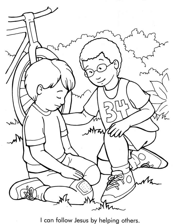 672x871 Serving Others Coloring Pages