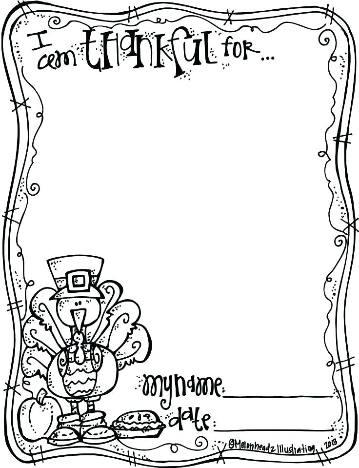 736x959 Thanksgiving Coloring Pages Free Being Thankful Coloring Pages