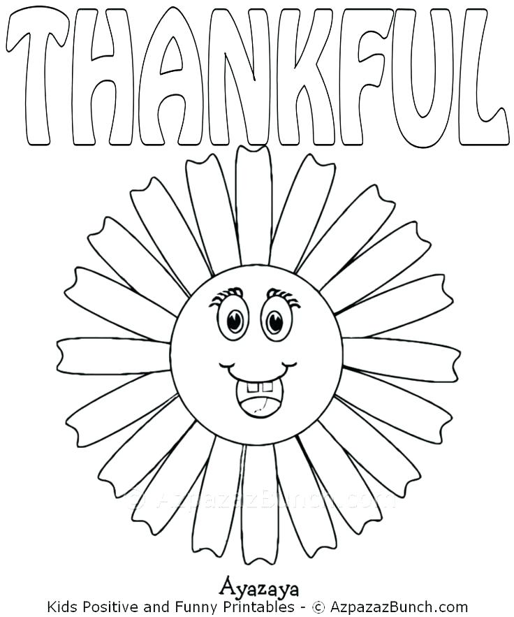 736x883 I Am Thankful For Coloring Pages