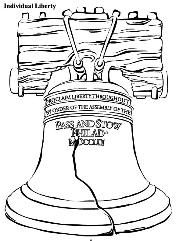 600x792 Liberty Bell Coloring Page Good Liberty Bell Coloring Page