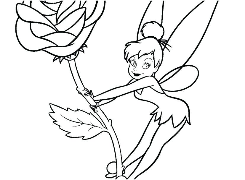 Bell Princess Coloring Pages