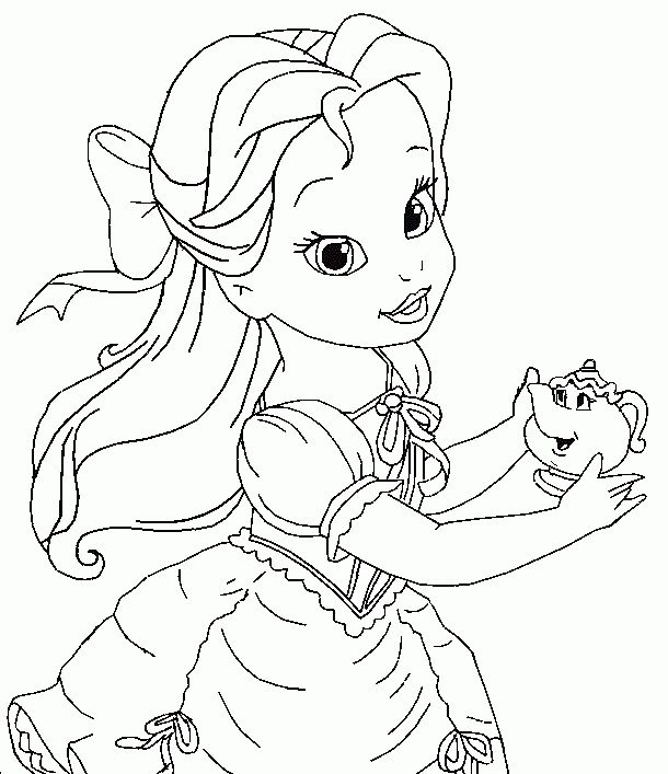 Bella Coloring Pages