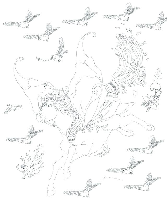 640x819 Bella Sara Coloring Pages Magical Horse Coloring Pages Bella Sara