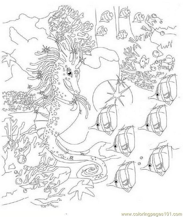 640x757 Bella Sara Coloring Page