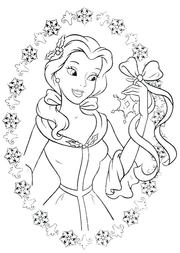 600x846 Disney Princess Coloring Pages To Print Princess Coloring Pages