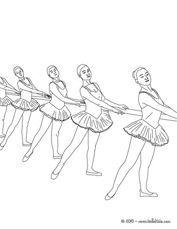 364x470 Dancer Coloring Pages
