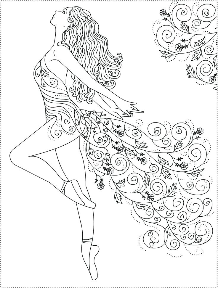 736x973 Dancer Coloring Pages Best Ballerina Coloring Pages Ideas On Dance