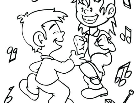 440x330 Beautiful Dancer Coloring Pages For Dance Coloring Pages Belly