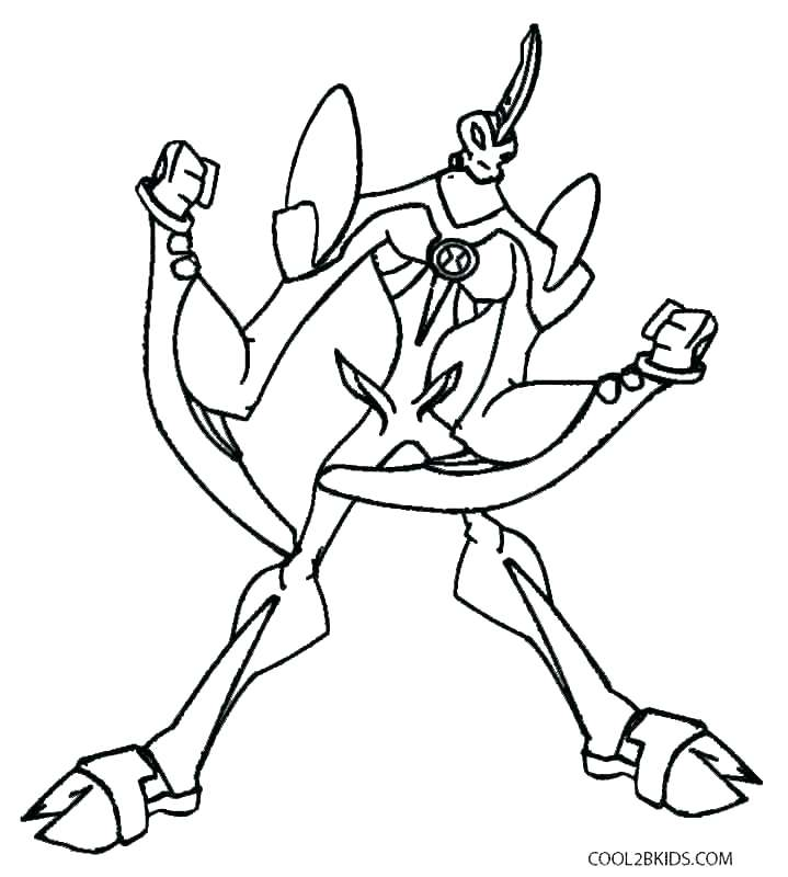 Ben 10 Alien Force Coloring Pages at GetDrawings.com   Free for ...