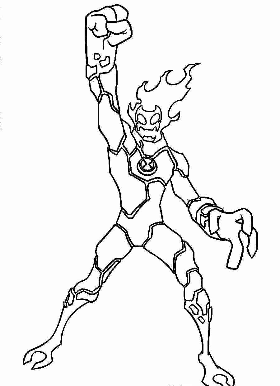 coloring pages ben 10 drawing pictures | Ben 10 Printable Coloring Pages at GetDrawings.com | Free ...