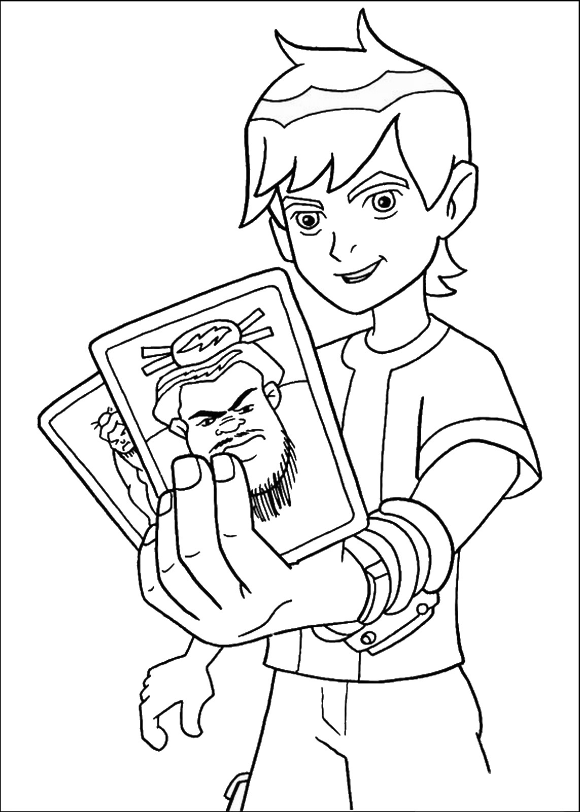Ben 10 Coloring Pages At Getdrawings Com Free For Personal Use Ben