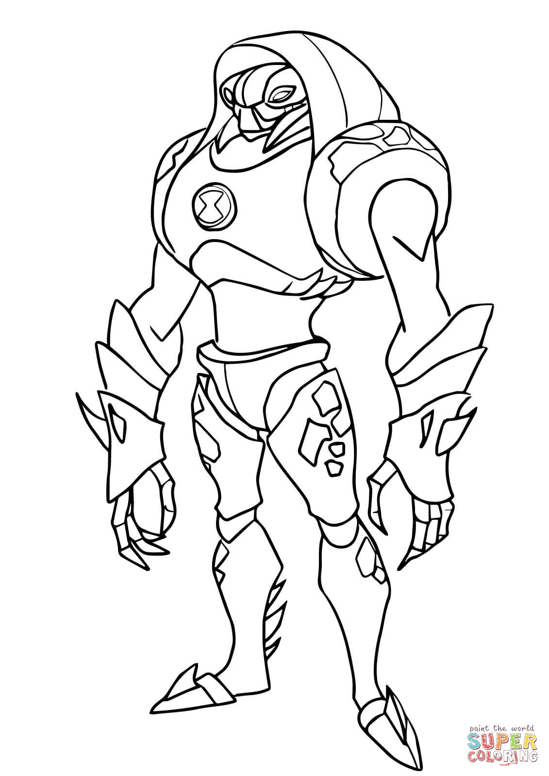 Ben 10 Coloring Pages at GetDrawings.com | Free for personal use Ben ...
