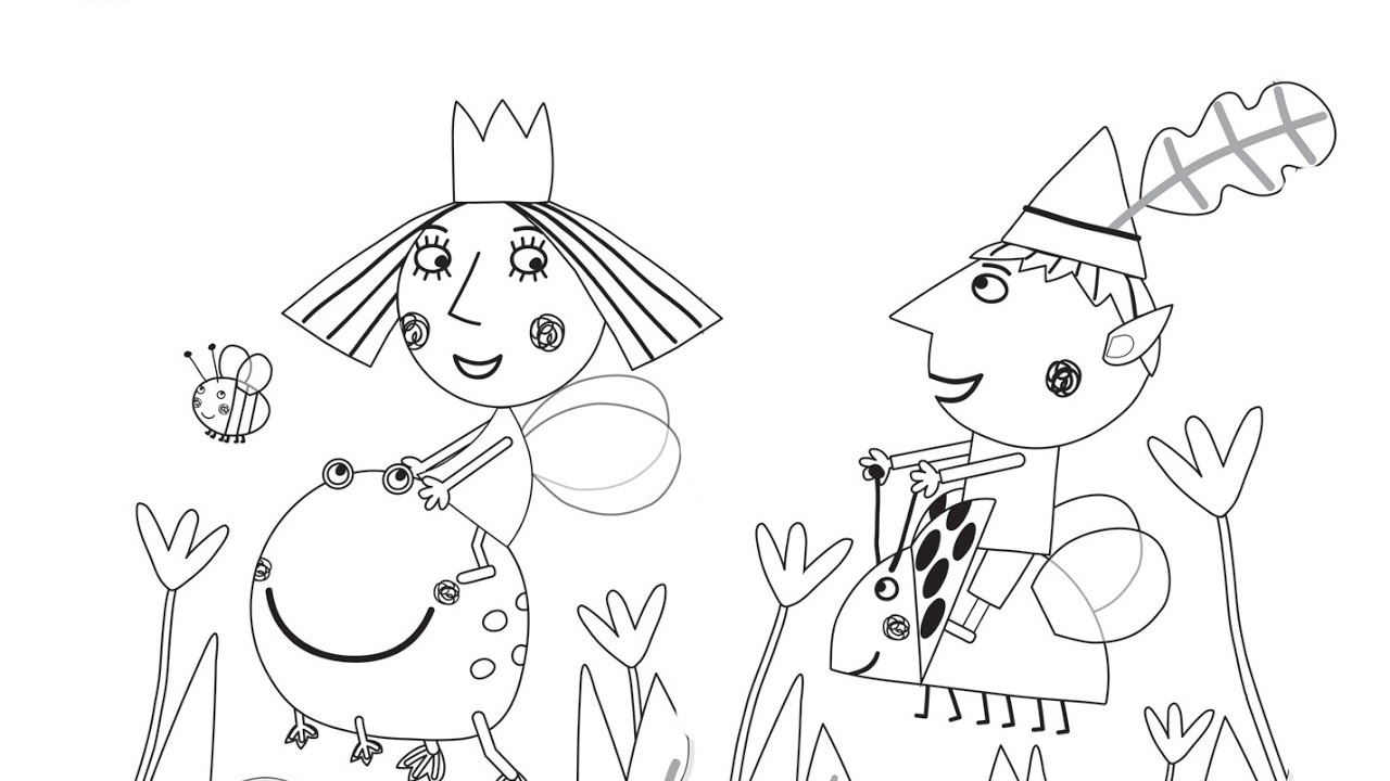 Ben And Holly Coloring Pages - GetColoringPages.com | 720x1280
