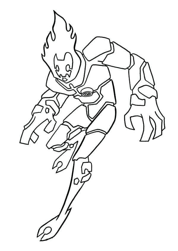 Ben Ten Coloring Pages At Getdrawings Com Free For Personal Use