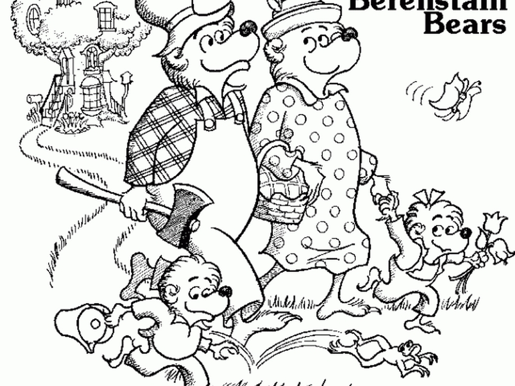 Berenstain Bears Clipart At Getdrawings Com Free For Personal Use