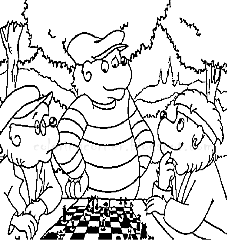 The Best Free Berenstain Coloring Page Images Download From 73 Free Coloring Pages Of Berenstain At Getdrawings