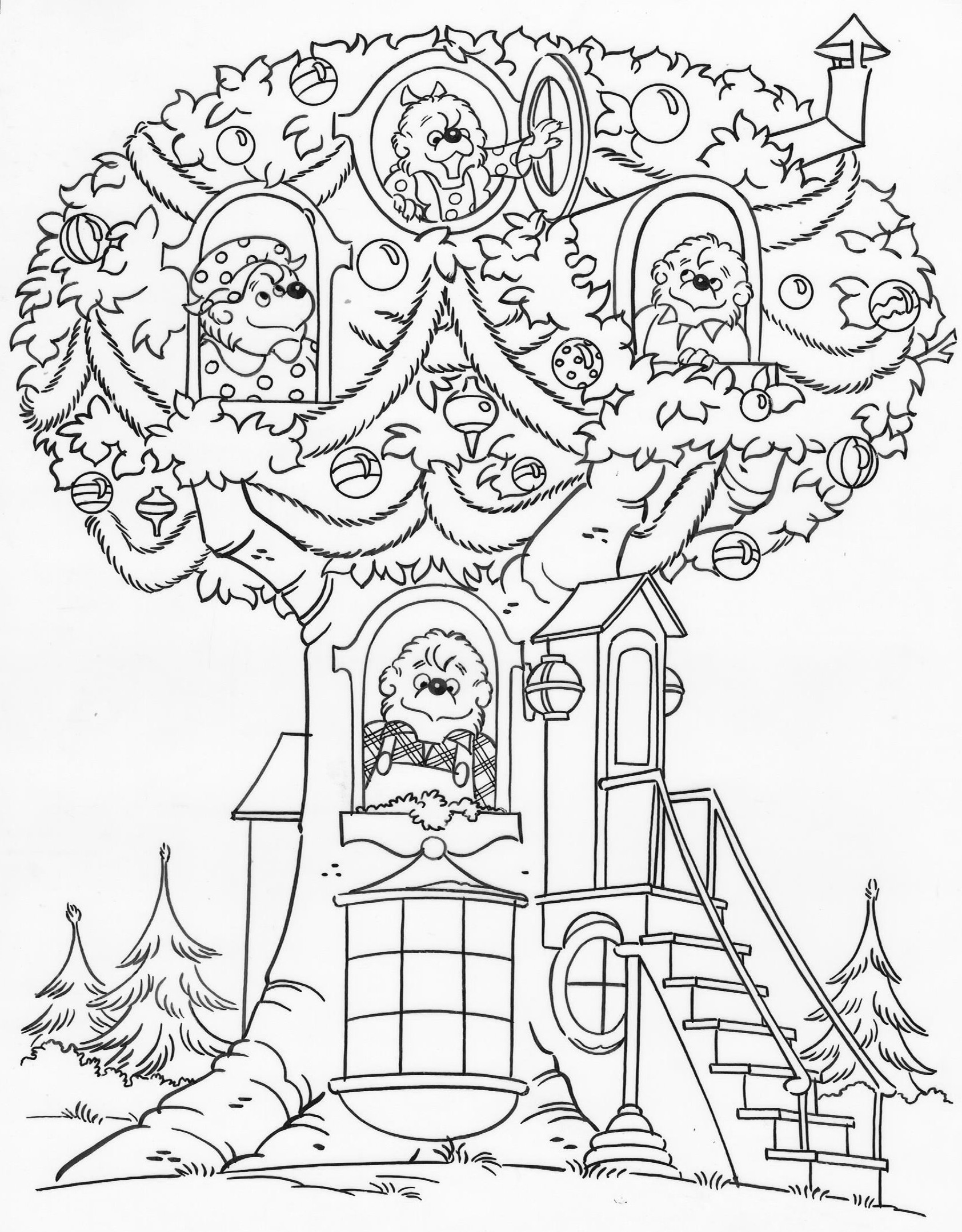 Berenstain Bears Coloring Pages at GetDrawings | Free download