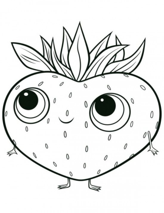 Berries Coloring Pages