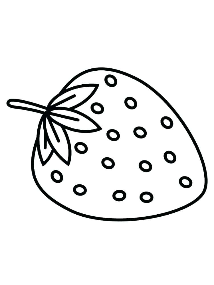 750x1000 Strawberry Coloring Page Strawberry Coloring Page Strawberry