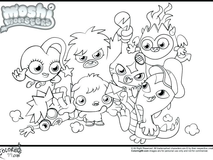 728x546 Loch Ness Monster Coloring Pages Monster Coloring Pages Monster