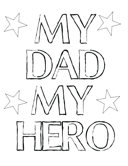 548x709 Dad Coloring Pages Dad Coloring Pages Superhero Dad Coloring Pages