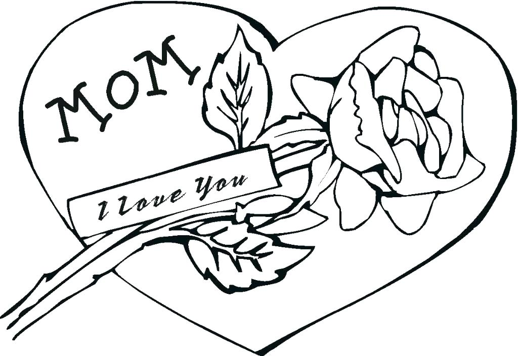 1024x704 I Love My Dad Coloring Pages Mom Coloring Page Mom Coloring