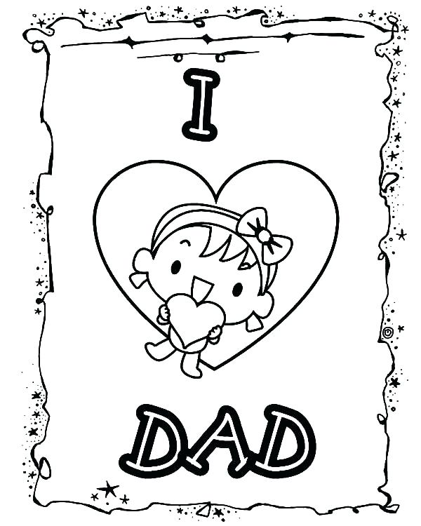 600x750 Mom And Dad Coloring Pages I Love You Dad Coloring Pages Happy Mom