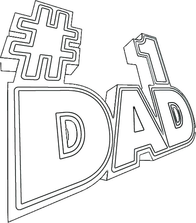633x720 Coloring Pages For Dads Worlds Best Dad Coloring Pages Print