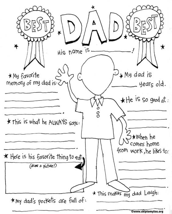 564x701 Dad Coloring Page For The Best Dad