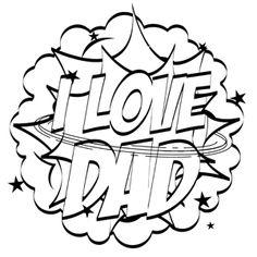 236x236 Free Best Dad Ever Coloring Page Dads, Cloud And Kawaii