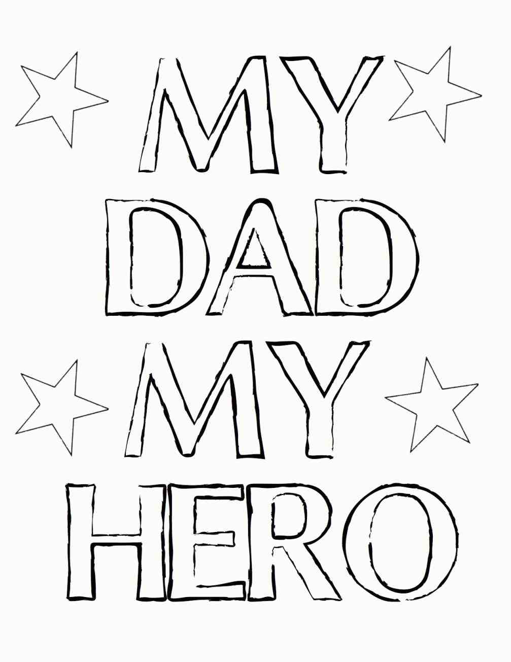 1007x1304 Free Best Dad Ever Coloring Page Dads Cloud And Digi Stamps Happy