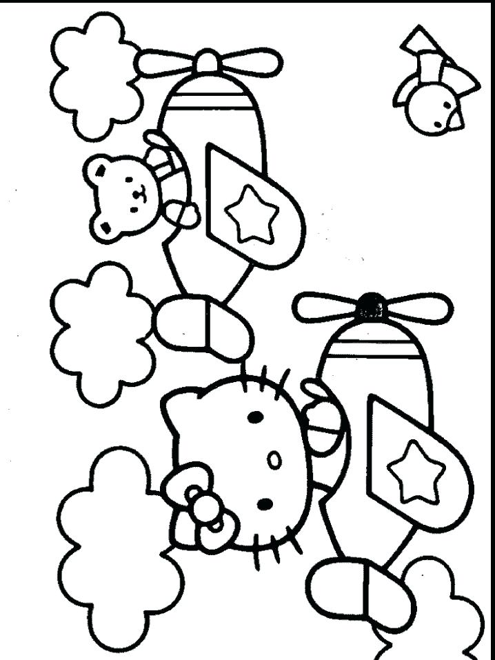 718x957 Library Coloring Pages Printables Hello Kitty Coloring Pages