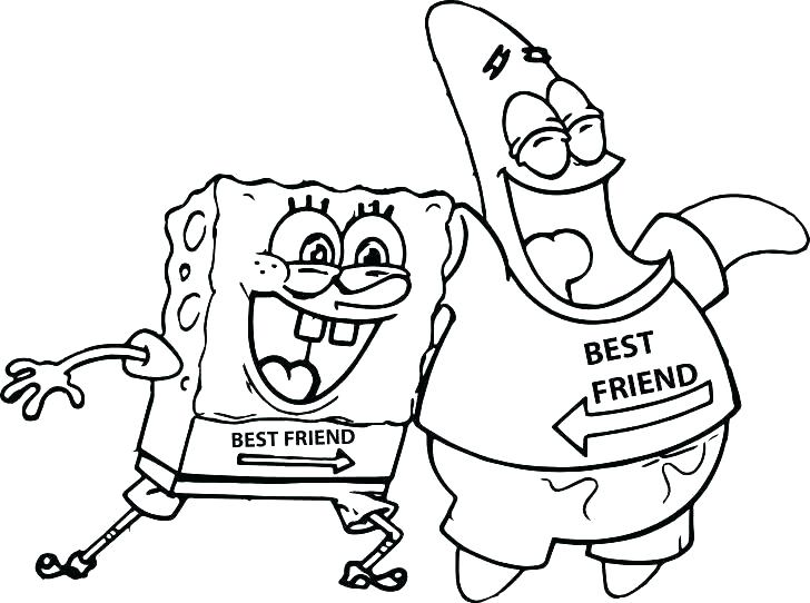 728x542 Best Friends Coloring Pages And Friends Coloring Pages Online