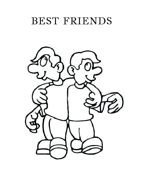 499x596 Friends Coloring Friends Coloring Best Friends Coloring Pages Is