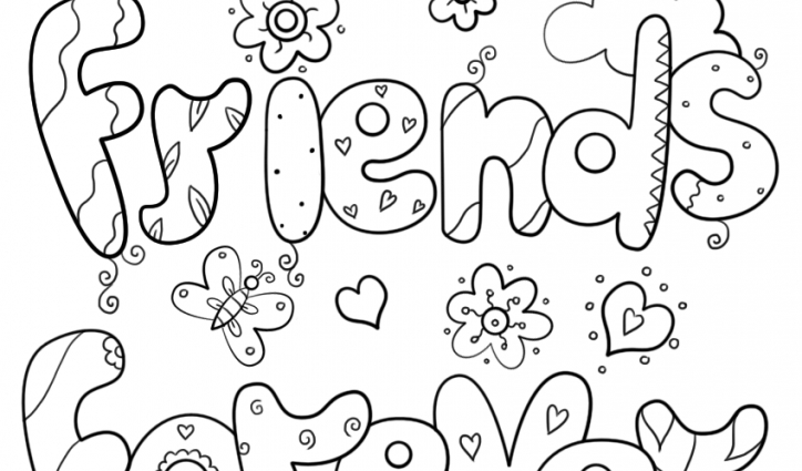 Best Friend Coloring Pages To Print at GetDrawings | Free ...