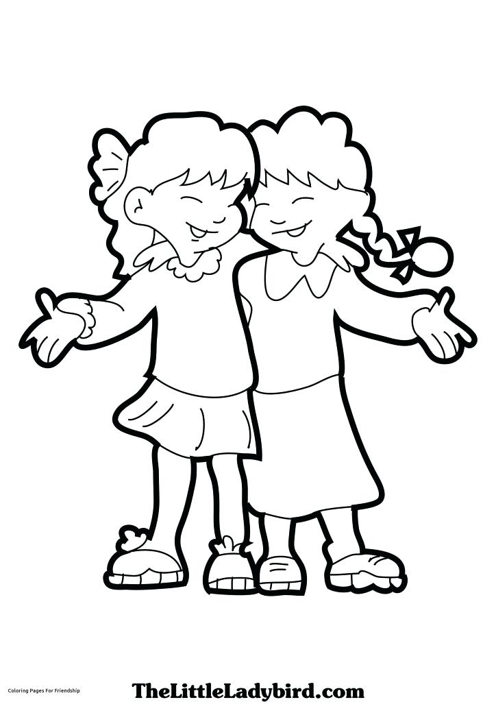 724x1024 Best Friend Coloring Pages To Print Anime Best Friends Coloring