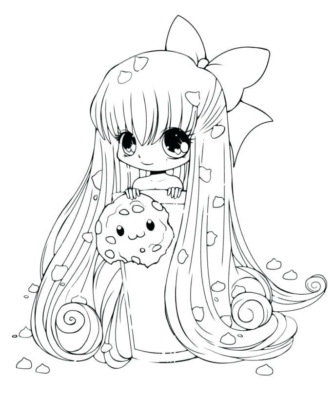 687x813 Free Anime Coloring Pages Coloring Anime Pages Also Medium Size