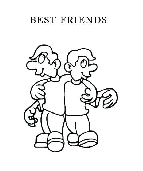 499x596 Friends Coloring Page Friendship Coloring Pages Spongebob