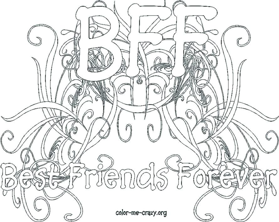 890x707 Friendship Coloring Pages Best Coloring Pages For Kids Friendship