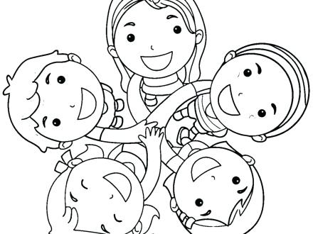 Best Friends Coloring Pages Printable at GetDrawings.com ...