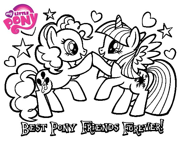 600x470 Best Friends Forever Coloring Pages