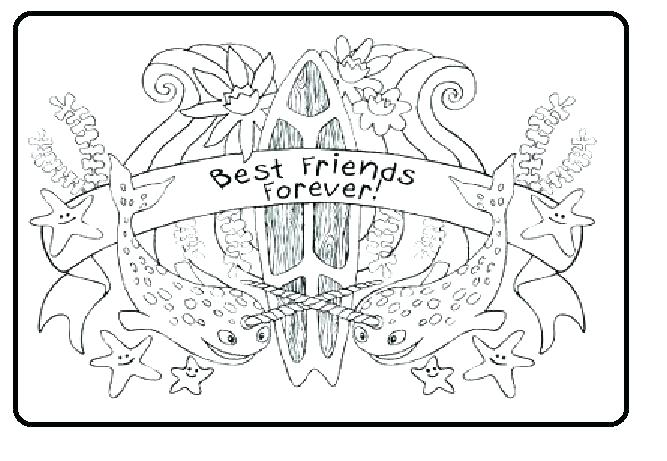 667x461 Friend Coloring Pages Best Friends Colouring Pages Best Friends